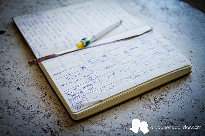 el calendario de algo que recordar