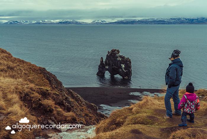 Hvítserkur Islandia