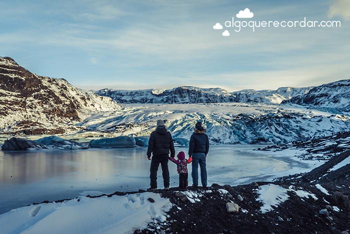 Glaciar Sólheimajökull Islandia