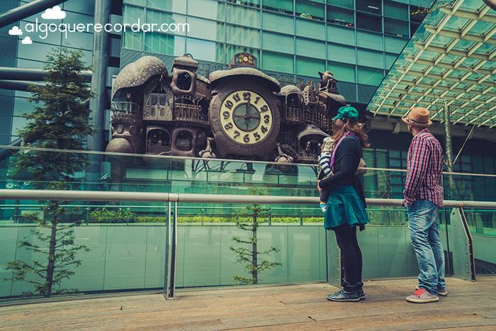 Reloj Ghibli Miyazaki