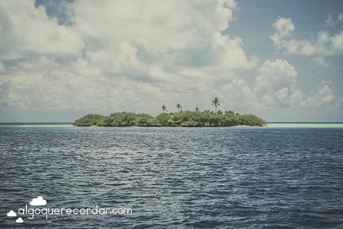 Isla atolon Maldivas
