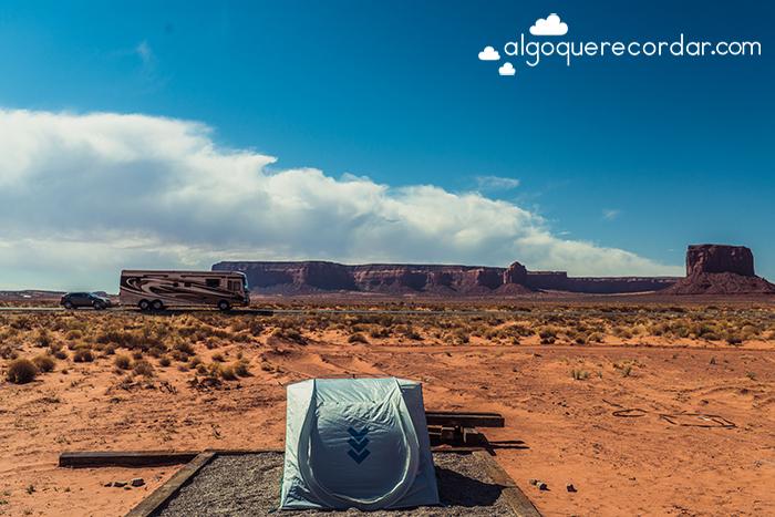 Acampando Monument Valley