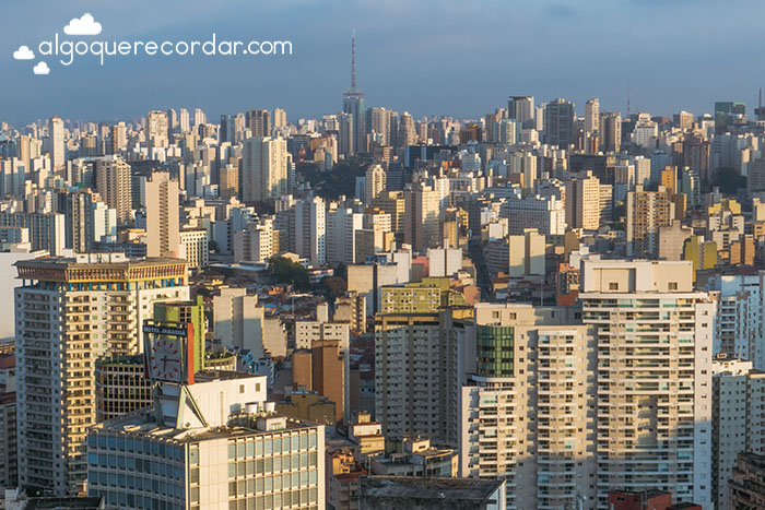 Sao Paulo skyline