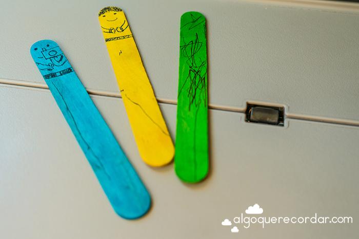palos colores pintados
