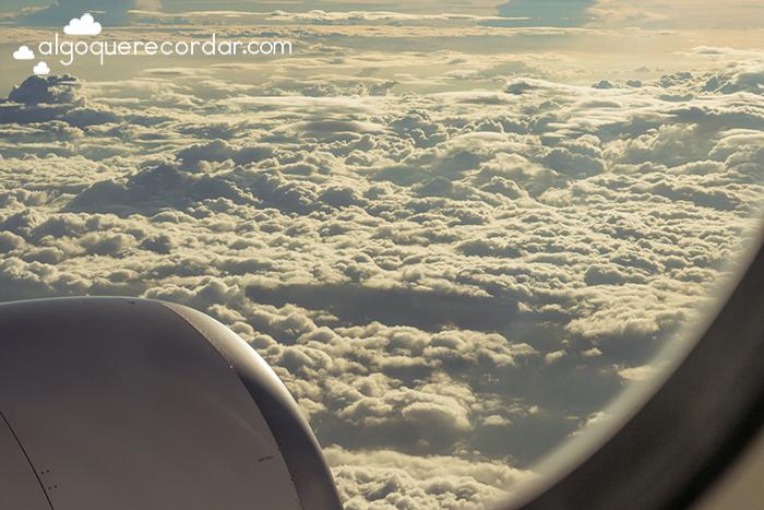 nubes desde el avion