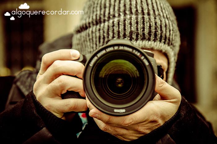 Ruben de algo que recordar haciendo una foto