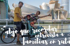 Entrevista familias en ruta
