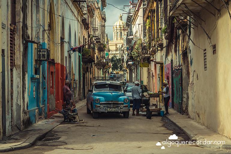 Calle Cuarteles La Habana