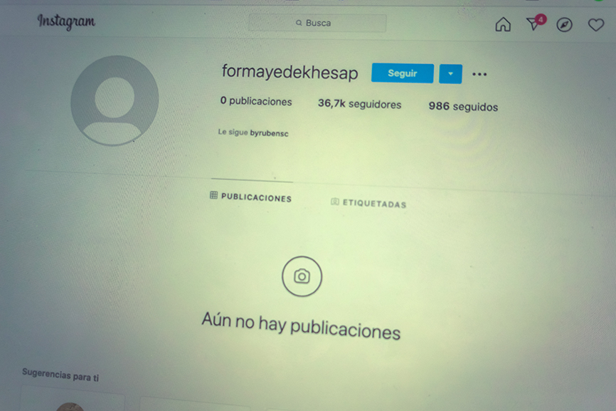 cuenta instagram robo