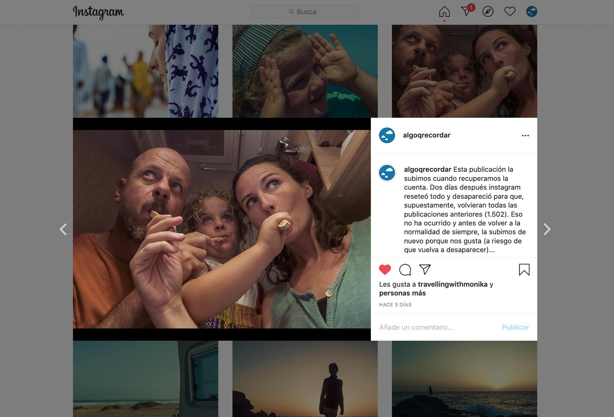 robo cuenta instagram