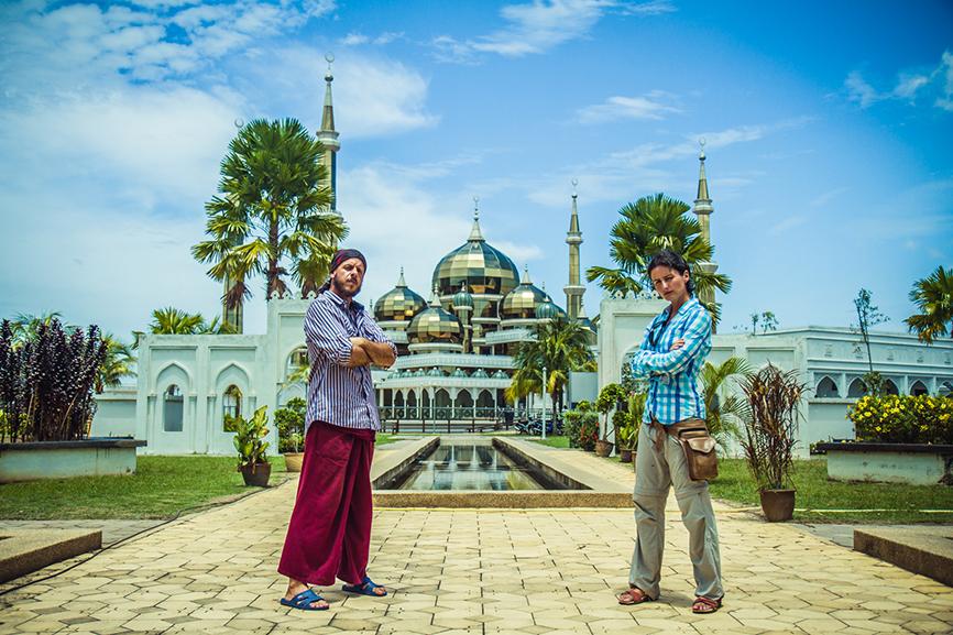Kristal Mosque Malasia